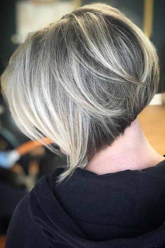 75 Fantastic Stacked Bob Haircut Ideas | Lovehairstyles in Highlighted Short Bob Haircuts