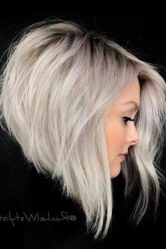 75 Fantastic Stacked Bob Haircut Ideas | Lovehairstyles inside Very Short Stacked Bob Hairstyles With Messy Finish