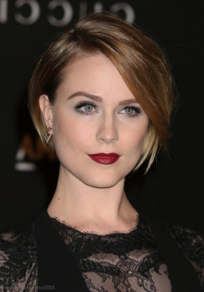 75 Graceful Short Side Swept Hairstyles For Young Girls intended for Messy Short Bob Hairstyles With Side-Swept Fringes
