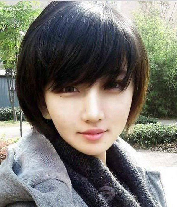 77 Fabulous Hairstyles With Bangs For 2019 – Style Easily Within Blunt Bangs Asian Hairstyles (View 24 of 25)