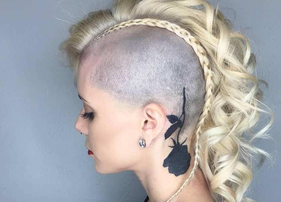 8 Peerless Mohawk Hairstyles For Blonde Women Intended For Medium Length Blonde Mohawk Hairstyles (View 2 of 25)