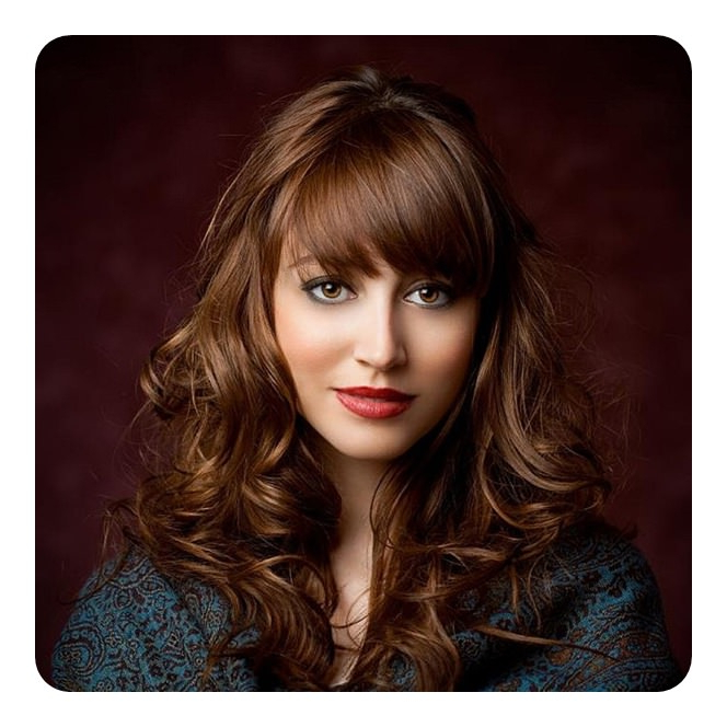 84 Wispy Bangs Hairstyle That You Must Try with regard to Soft And Casual Curls Hairstyles With Front Fringes