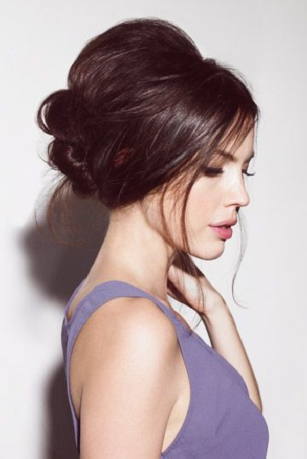 85 Stunning Bouffant Updo Hairstyles For This Christmas inside Elegant High Bouffant Bun Hairstyles