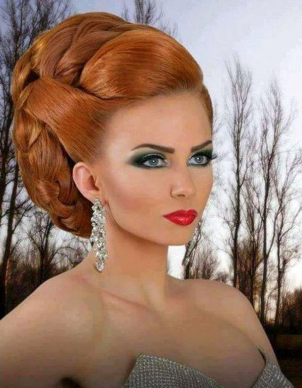 85 Stunning Bouffant Updo Hairstyles For This Christmas With Elegant High Bouffant Bun Hairstyles (View 20 of 25)