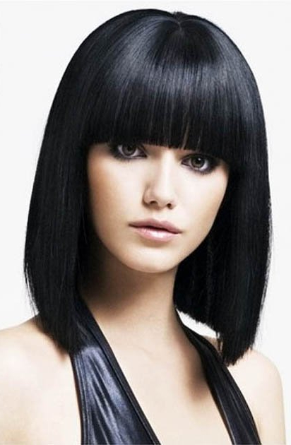 9 Different Types Of Bangs To Try With Your Next Hairstyle Inside Eye Covering Bangs Asian Hairstyles (View 6 of 25)
