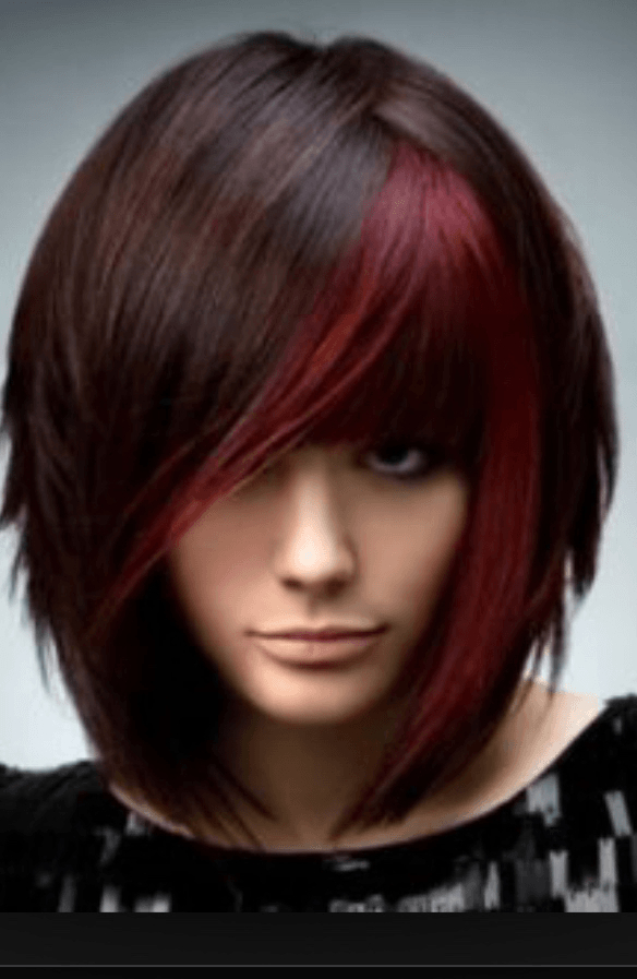 90 Artistic Medium Layered Hairstyles For Women – Hairstylecamp Pertaining To Medium Length Red Hairstyles With Fringes (View 16 of 25)