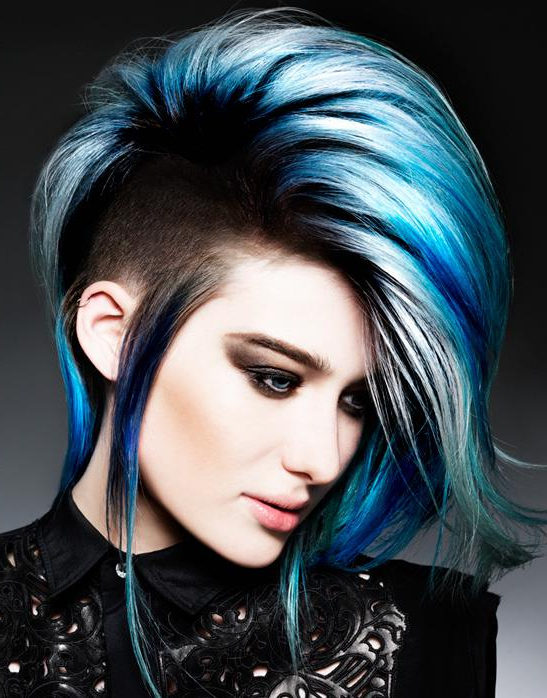 Amazing Blue Mohawk | Hairstyles | Hair Photo In Blue Hair Mohawk Hairstyles (View 6 of 25)