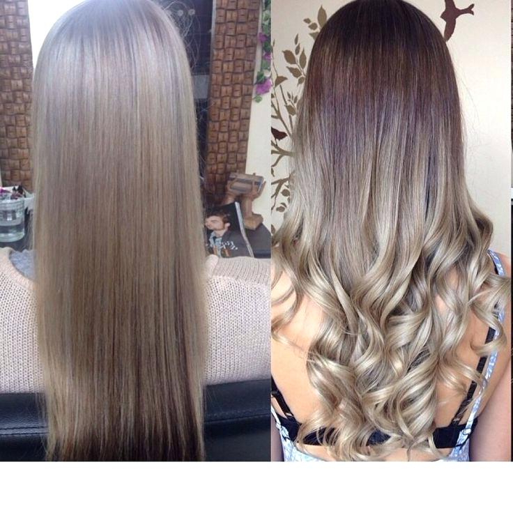 Ash Blonde Hair Ombre – Silkscreening Pertaining To Ash Bronde Ombre Hairstyles (View 10 of 25)