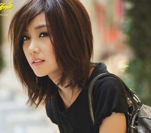 Asian Bob Pics You Will Love | Bob Hairstyles 2018 – Short In Elongated Bob Asian Hairstyles (View 9 of 25)