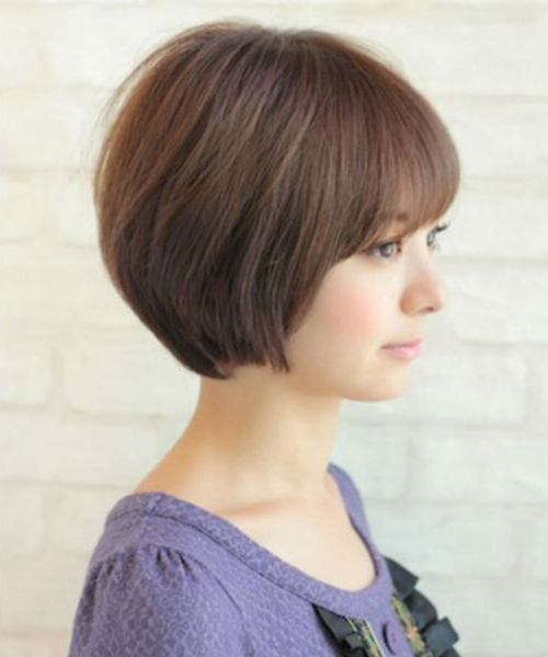 Astonishing Short Layered Hairstyles With Bangs For Asian Within Bold Asian Pixie Haircuts (View 21 of 25)