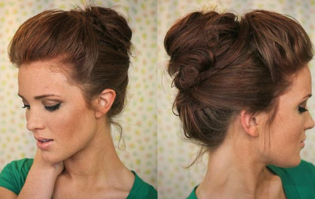 Best Hairstyles To Go With A High Collar Dress | Elegant Throughout Elegant High Bouffant Bun Hairstyles (View 6 of 25)