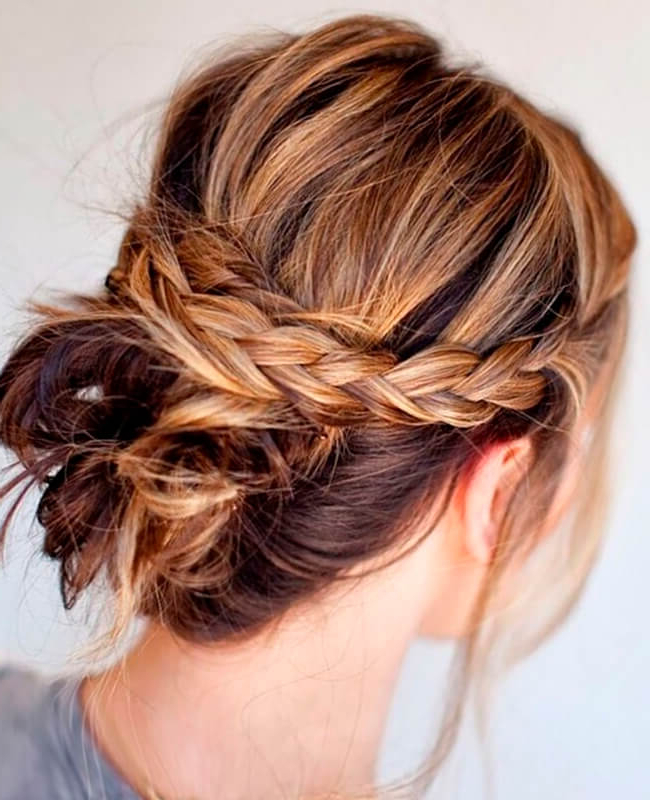 Best Mid Length Hairstyles Inside Braided Shoulder Length Hairstyles (View 20 of 25)