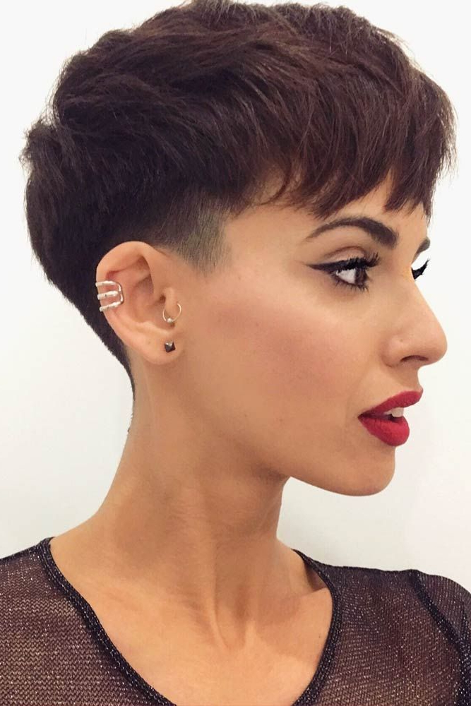 Bold And Classy Undercut Pixie Ideas That Make Heads Turn With Regard To Bold Asian Pixie Haircuts (View 11 of 25)