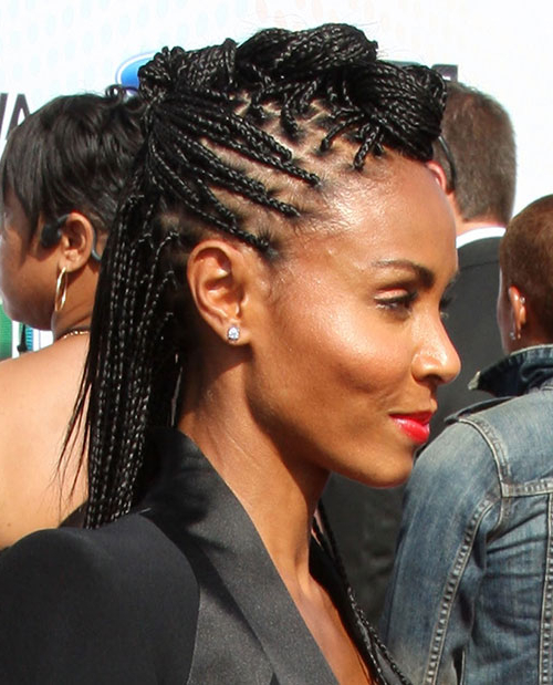 Box Braids Natural Hair Mohawk Hairstyles – Askhairstyles With Regard To Box Braids Mohawk Hairstyles (View 16 of 25)