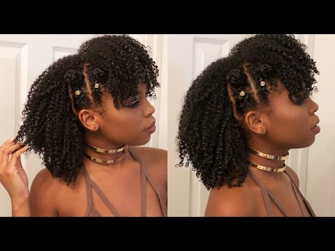 Braided Bantu Knot Mohawk Style On Natural Hair Ft (View 19 of 25)