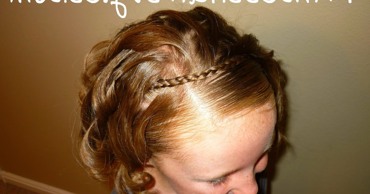 Braided Headband – For Short Hair Too | Hairstyles For Girls For Hairstyles With Fringes, End Curls And Headband (View 13 of 25)