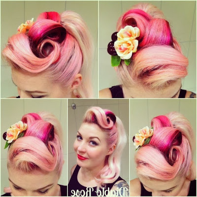 Channel Catalog pertaining to Victory Roll Mohawk Hairstyles