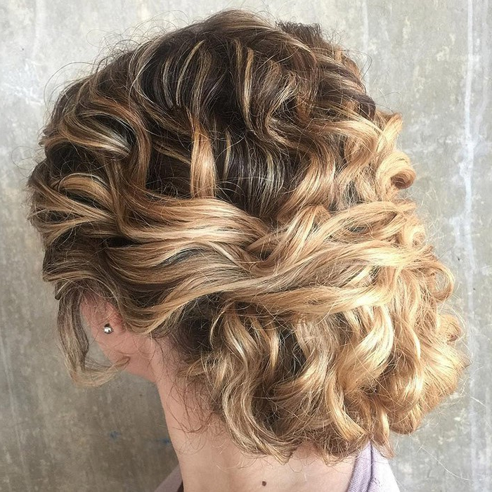 Check Out Our 24 Easy To Do Updos, Perfect For Any Occasion Regarding Elegant Messy Updo Hairstyles On Curly Hair (View 5 of 25)