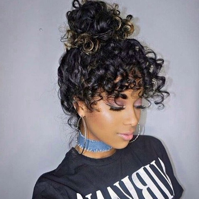 Check Out Our 24 Easy To Do Updos, Perfect For Any Occasion Within Elegant Messy Updo Hairstyles On Curly Hair (View 25 of 25)