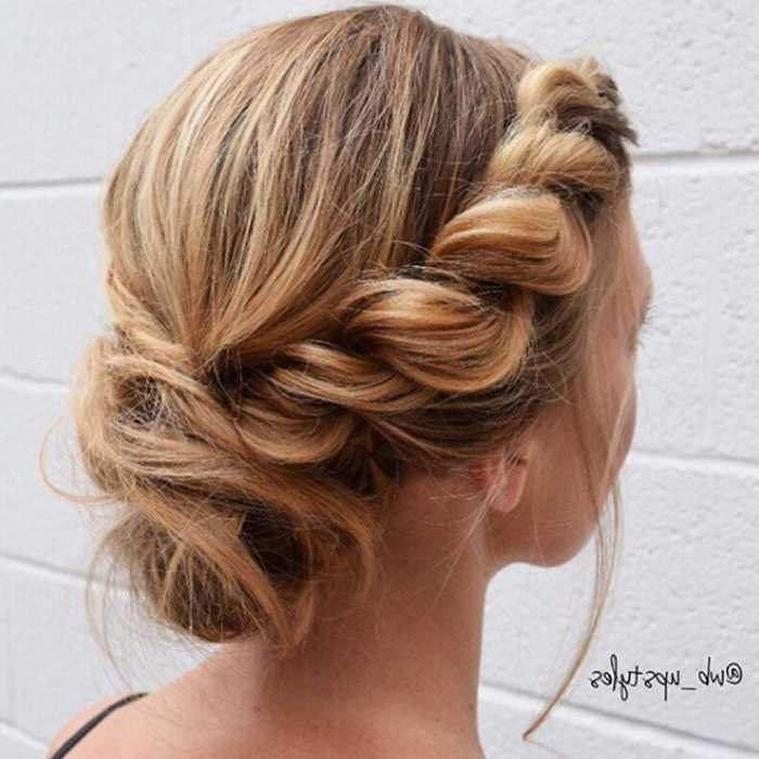 Check Out Our 24 Easy To Do Updos, Perfect For Any Occasion Within Loose Waves Hairstyles With Twisted Side (View 22 of 25)