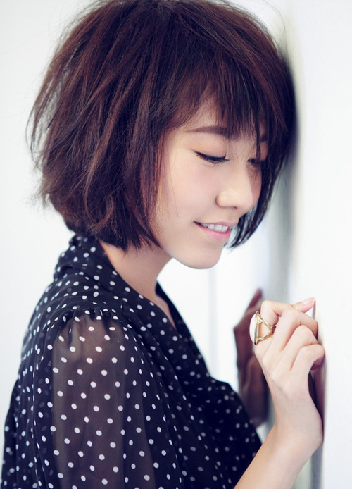 Check Out These 12 Asian Hairstyles To Try In 2017 - Female for Boyish Shag Asian Hairstyles