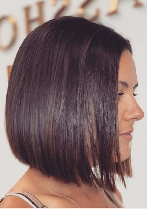 Chic Bob Haircuts And Styles For Women To Follow In 2019 within Trendy And Sleek Bob Haircuts