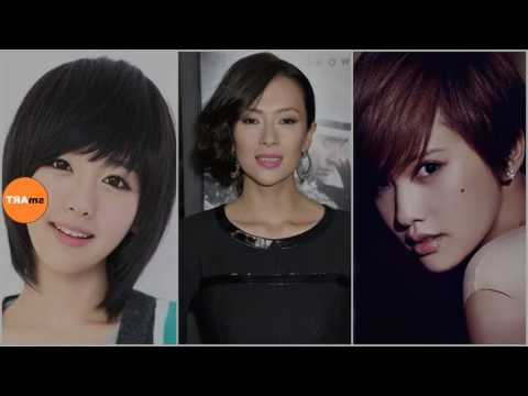 Chinese Girl Hairstyle - Cute Short Haircuts For Chinese with regard to Sweet And Adorable Chinese Bob Hairstyles