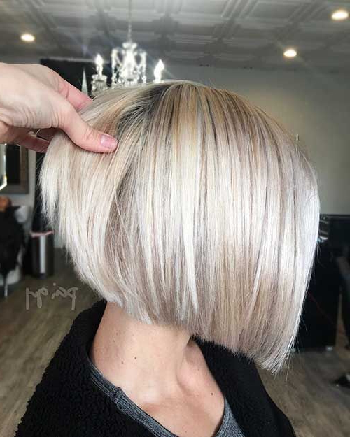 Coolest And Super Bob Hairstyles For Women | Bobs For Thin with regard to Modern And Stylish Blonde Bob Haircuts