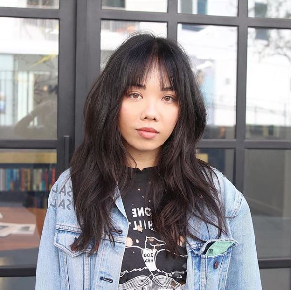 Could This Chic Hair Trend Be The Secret To A Slimmer Within Wispy Bangs Asian Hairstyles (View 23 of 25)