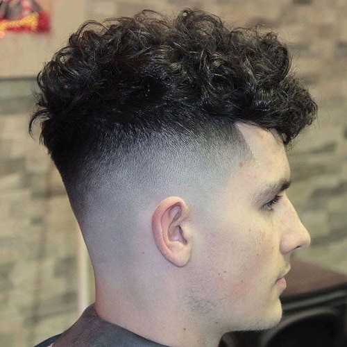 Curly Hair Fade (2019 Guide) | Curly Hair Styles, Haircuts pertaining to Long Luscious Mohawk Haircuts For Curly Hair