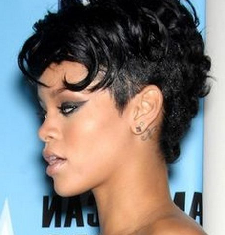 Curly Mohawk Hairstyles | Hairstylo Intended For Pixie Mohawk Haircuts For Curly Hair (View 8 of 25)