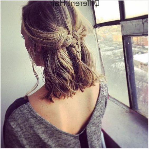 Cute Braids For Shoulder Length Hair – Shoulder Length Regarding Braided Shoulder Length Hairstyles (View 7 of 25)