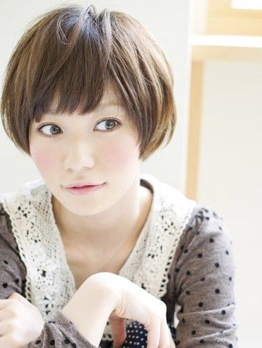 Cute Japanese Asian Short Hairstyles 2012 For Women for High Pixie Asian Hairstyles