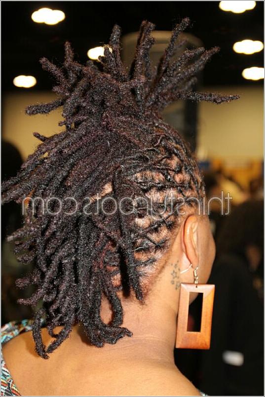 Dreadlocks Mohawk throughout Dreadlocked Mohawk Hairstyles For Women
