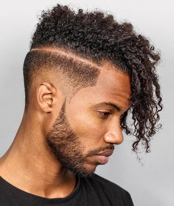 Drop Fade Haircuts – What They Are, And Why You Need One intended for Asymmetrical Chop Mohawk Haircuts