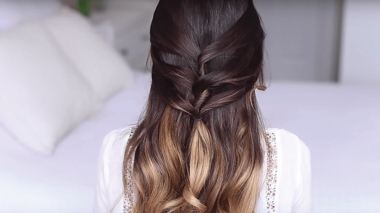 Easy Tutorials For Romantic Half Up Hairstyles – Verily For Long Half Updo Hairstyles With Accessories (View 14 of 25)