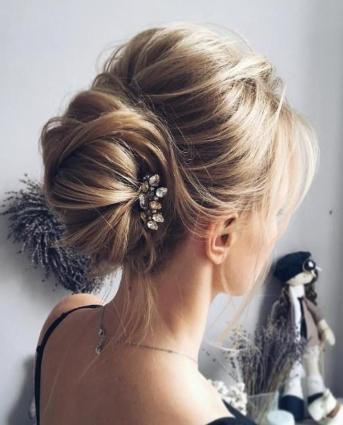Elegant High Bouffant Bun Hairstyle For Asian Girls | Best Intended For Elegant High Bouffant Bun Hairstyles (View 4 of 25)
