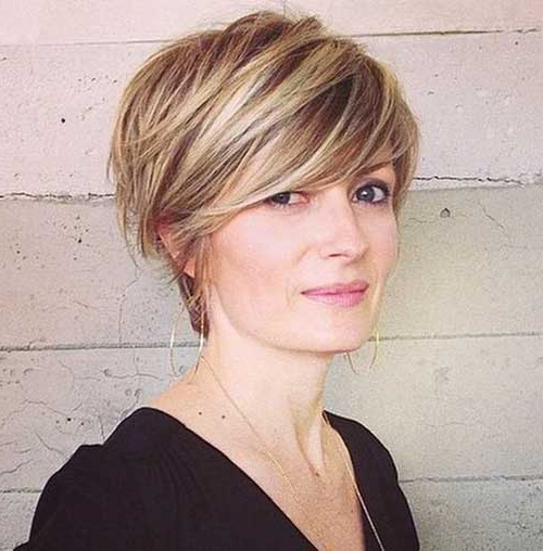 Elegant Short Highlighted Hair Color Ideas In Highlighted Pixie Hairstyles (View 11 of 25)
