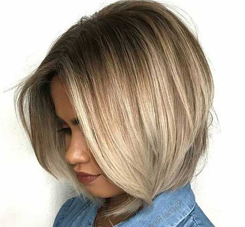 Elegant Short Highlighted Hair Color Ideas With Highlighted Short Bob Haircuts (View 18 of 25)
