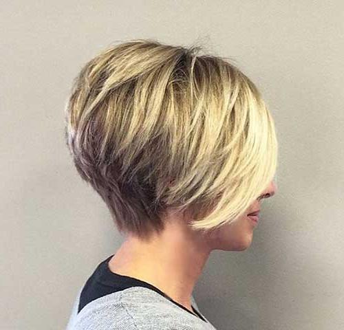 Fabulous Short Layered Haircuts You Will Love | Short For Layered Short Bob Haircuts (View 10 of 25)