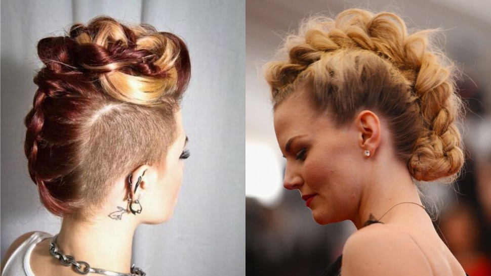 Fashion : 20 Braided Mohawk Hairstyles For Women Haircuts Throughout Mohawk Updo Hairstyles For Women (View 9 of 25)