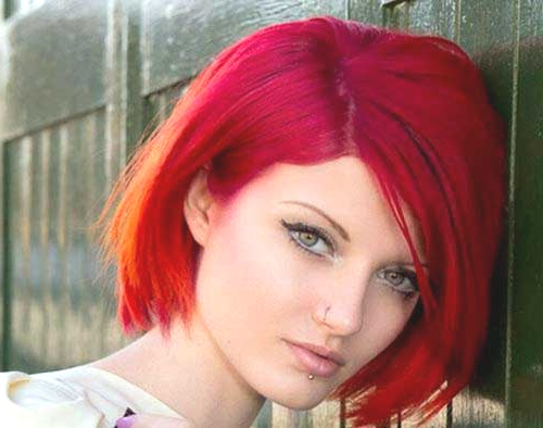 Fashion : Bright Red Bob Hairstyles Glamorous 10 Red Bob throughout Bright Bob Hairstyles