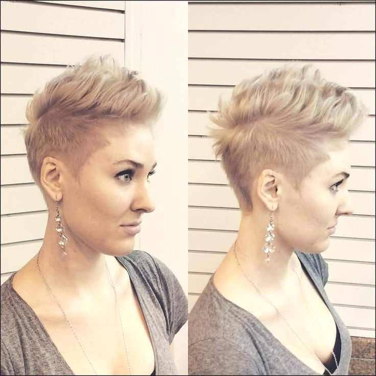 Fashion : Faux Hawk Haircut Girl Thrilling The Pixie Within Pixie Faux Hawk Haircuts (View 13 of 25)