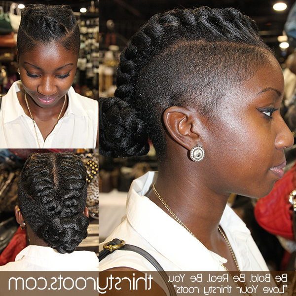 Faux Braided Mohawk With Braided Faux Mohawk Hairstyles For Women (View 19 of 25)