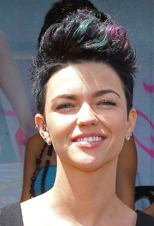 Faux Hawk Hairstyles For Women - Hairstyles Weekly for Short And Curly Faux Mohawk Hairstyles