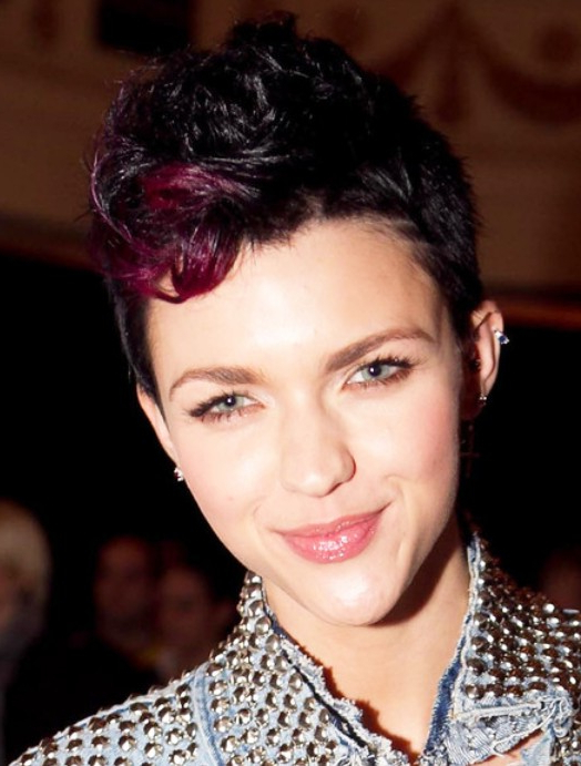 Faux Hawk Hairstyles For Women - Hairstyles Weekly with regard to Short And Curly Faux Mohawk Hairstyles