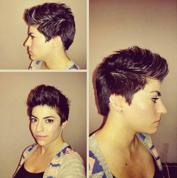 Faux Hawk. Pixie Haircut (View 14 of 25)