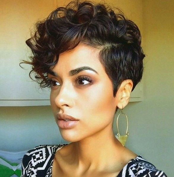 Faux Hawk | Short Hair | Short Hair Styles, Curly Hair within Short And Curly Faux Mohawk Hairstyles