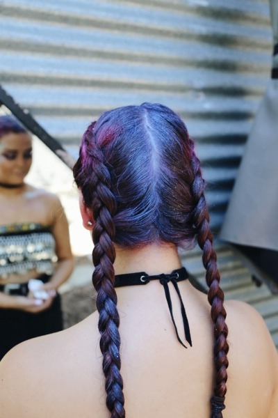 Festival Braids | Tumblr Within Blue Braided Festival Hairstyles (View 12 of 25)