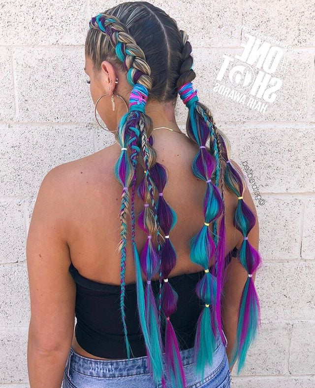 Festival Hair Ideas 2019 | Popsugar Beauty Uk with regard to Blue Braided Festival Hairstyles